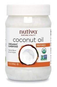 Nutiva Organic Steam Refined Coconut Oil