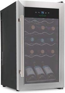 Nutrichef Refrigerator Mini Wine Fridge