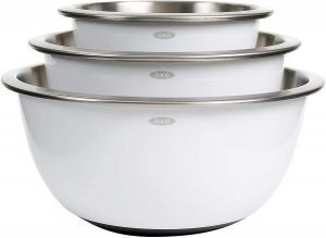 Oxo Good Grips Stainless Steel Mixing Bowl Set