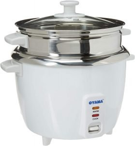 Oyama Stainless Steel Rice Cooker