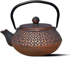 Old Dutch International Cast Iron Amai Teapot