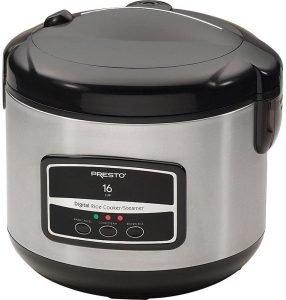 Presto 05813 Stainless Steel Rice Cooker