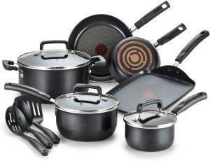 T Fal Signature 12 Piece Cookware Set