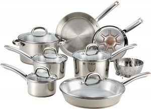 T Fal C836sd Ultimate Stainless Steel Cookware Set