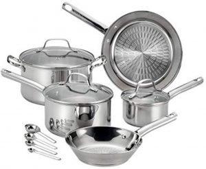 T Fal Pro E760sc 12 Piece Cookware Set