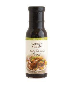 Tastefully Simple Honey Teriyaki Stir Fry Sauce
