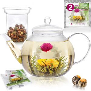 Teabloom Microwave And Stovetop Teapot