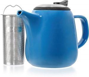 Tealyra Blue Ceramic Teapot