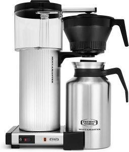 Technivorm 39340 Cdt Grand 60 Brushed Silver Coffee Maker