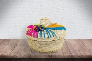 Threads West Handwoven Tortilla Basket