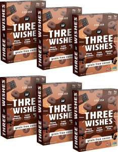 Three Wishes Plant Based Vegan Snack Cereal