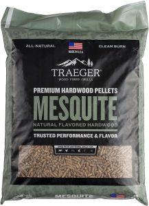 Traeger Grills Pel305 Mesquite 100% All Natural Hardwood Pellets