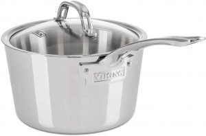 Viking Contemporary 3 Ply Stainless Steel Saucepan