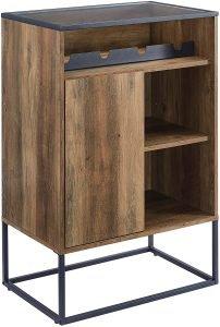 Walker Edison Wine Storage Cabinet