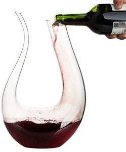 Wbseos Wine Handblown Decanter