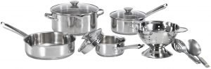 Wearever Cook And Strain Cookware Set