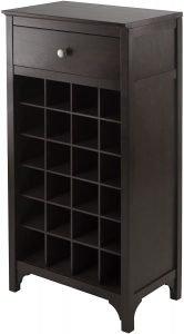 Winsome Ancona Modular 24 Bottle Wine Cabinet