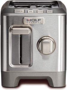 Wolf Gourmet 2 Slice Extra Wide Slot Toaster