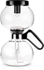 Yama Glass Heat Resistant Stovetop Siphon Coffee Maker