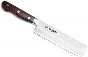 Yoshihiro Vg 10 Stainless Steel Nakiri Vegetable Knife