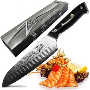Zelite Infinity 7 Inch Santoku Knife