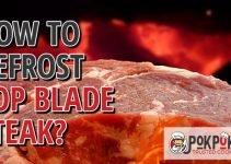 How To Defrost Top Blade Steak