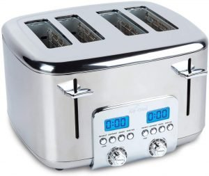 All Clad Tj824d51 Stainless Steel Digital Toaster