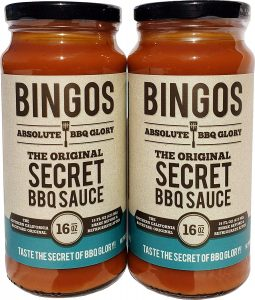Bingos Original Secret Bbq Sauce