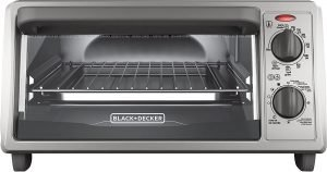 Black+decker 4 Slice Countertop Toaster Oven