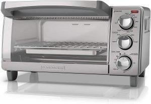 Black + Decker 4 Slice Toaster Oven