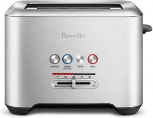 Breville Bta720xl Bit More Brushed Stainless Steel Toaster
