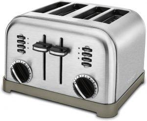 Cuisinart Cpt 180p1 Metal Classic 4 Slice Toaster