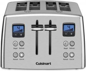 Cuisinart Cpt 435c 4 Slice Countdown Metal Toaster