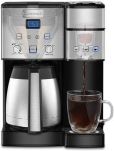Cuisinart Ss 20p1 10 Cup Thermal Single Serve Coffee Maker