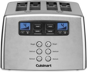 Cuisinart Touch To Toast Leverless Toaster