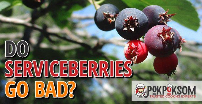 Do Serviceberries Go Bad