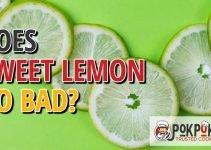 Does Sweet Lemon Go Bad?
