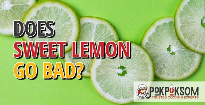 Does Sweet Lemon Go Bad