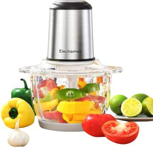 Elechomes Electric Food Processor And Vegetable Chopper