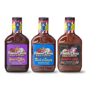 Famous Dave's Bbq Sauce Variety Pack