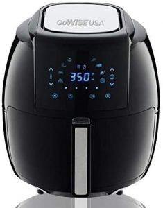 Gowise Usa 5.8 Qt Digital Air Fryer