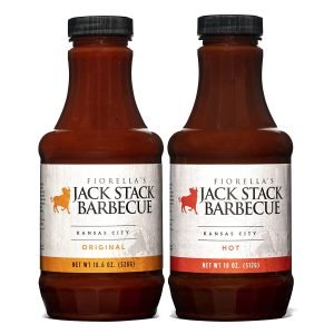 Jack Stack Barbecue Original And Hot Sauce