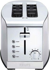 Krups Kh732d50 2 Slice Stainless Steel Toaster