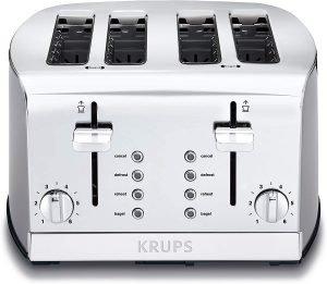 Krups Kh734d Breakfast Set 4 Slot Toaster