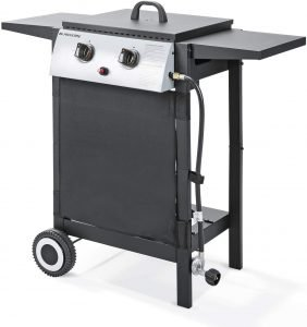 Maxkare Propane Gas Grill With 2 Burners