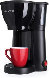 Mixpresso Mini Compact Drip Coffee Maker