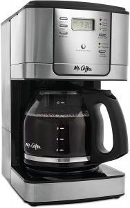Mr. Coffee 12 Cup Stainless Steel Programmable Automatic Coffee Maker