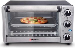 Mueller Austria Natural Convection Toaster Oven