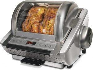 Ronco Ez Rotisserie Stainless Steel Toaster Oven