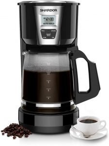Shardor 12 Cup Drip Coffee Maker